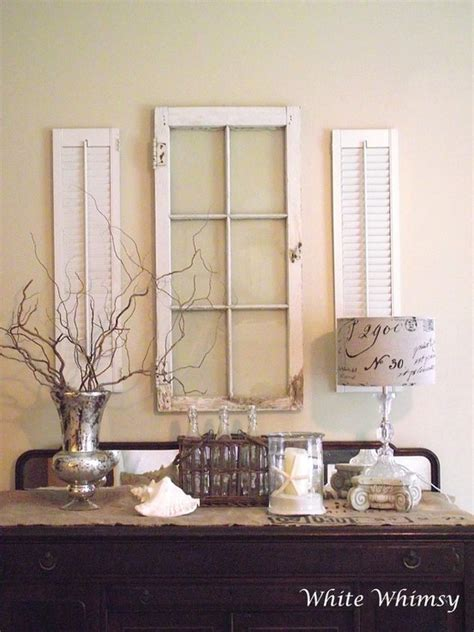 Shutter Blinds For Windows Decor Window With Shutters Wall Decor