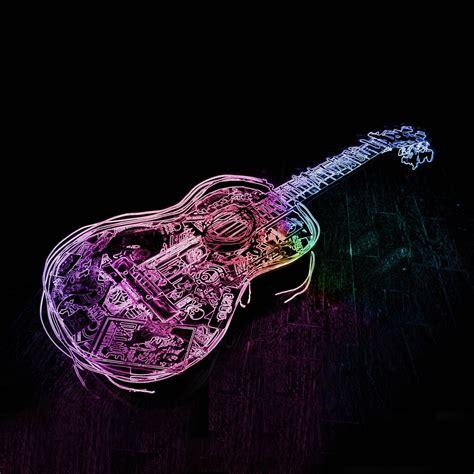 colorful guitar wallpaper guitar color wallpaper 21971 wallpaper cool wallpaper