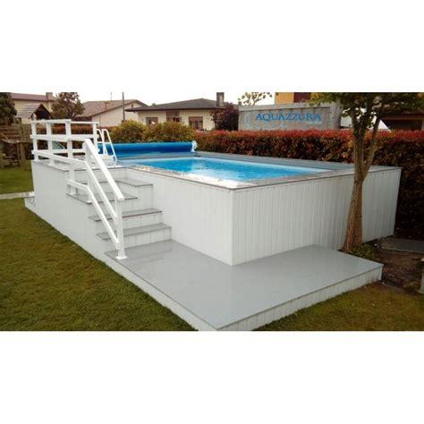 rivestimento in legno per piscine fuori terra piscina fuori terra con solarium peronalizzato in wpc