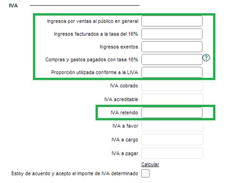 ingresos exentos de iva vlex mxico simulador de pago para r 233 gimen de incorporaci 243 n fiscal