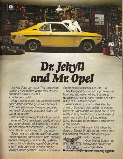 1975 buick opel vintage buick opel ad 1975 vintage opel pinterest