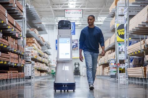 lowe s is launching its own line of retail robots