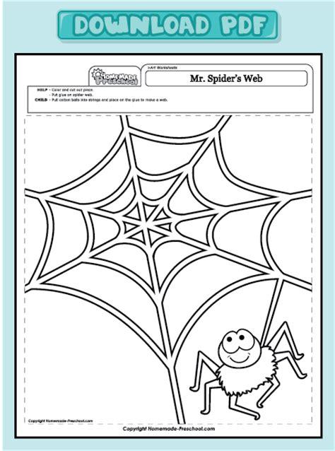 spider worksheets for kindergarten and interactive preschool worksheets