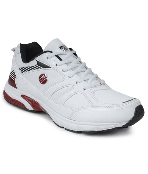 white leather sports shoes white synthetic leather sport shoes buy