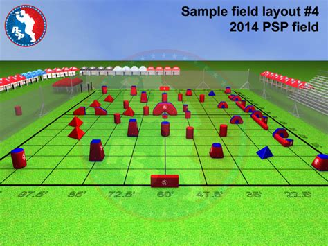 field layout initialized event psp 2014 bunkers layout events