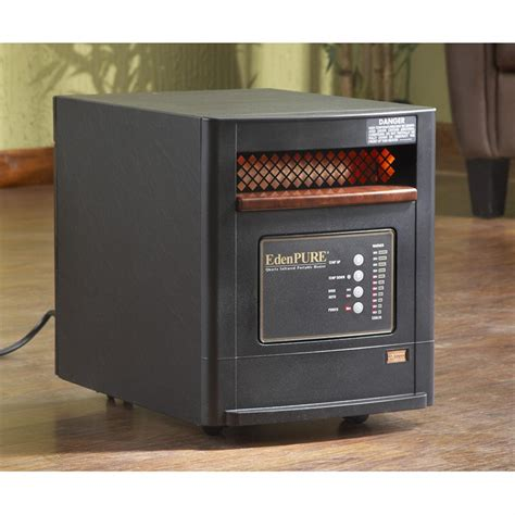 Edenpure Fireplace by Edenpure 174 Usa 1000 Infrared Heater 224737 Fireplaces At