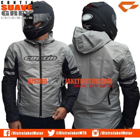 Jaket Contin Suave Grey Jaket Motor Pria Jaket Blazer jual jaket motor dan jaket touring distributor