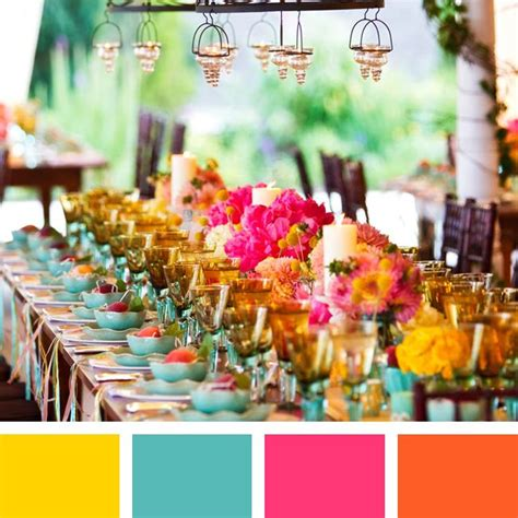summer wedding color schemes 17 best images about wedding color schemes on