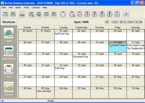 Active Desktop Calendar Search Results For Windows 7 Active Desktop Calendar