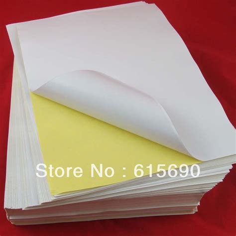 Label Paper - a4 sticker paper promotion shopping for promotional