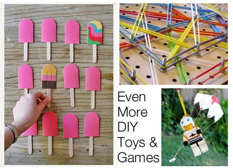 Handmade Childrens Toys - diy preschool
