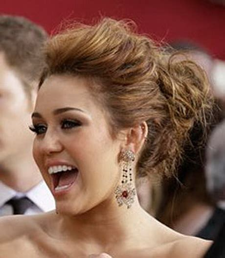 miley cyrus type haircuts miley cyrus prom hairstyles