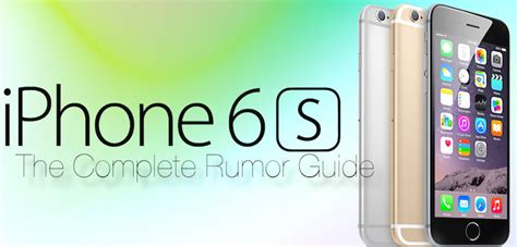 complete iphone  rumor list