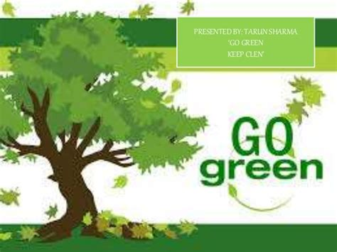 membuat poster lingkungan go green keep clean