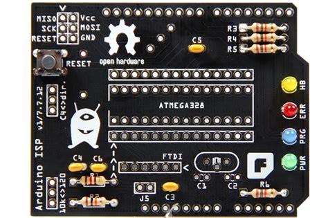 reset knopf christians bastel laden aufbauanleitung f 252 r ein arduino isp
