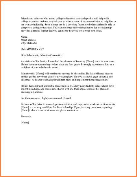 recommendation letter for student admission letters font