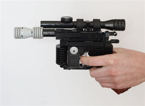 Lego Blaster the legendary han dl 44 heavy blaster recreated in lego bit rebels