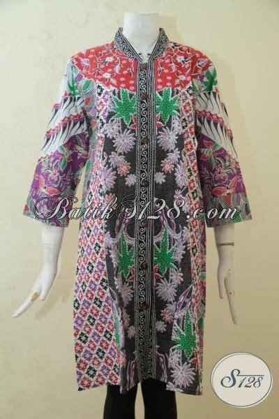 desain baju batik santai blus batik printing ukuran l baju batik motif paling
