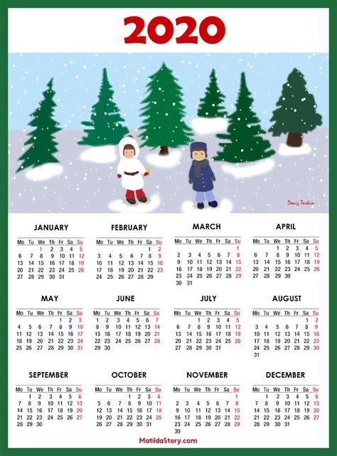 calendar  printable  page monday start matildastorycom