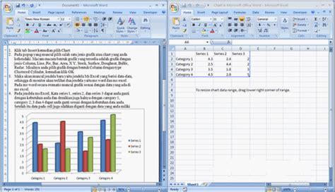 membuat grafik garis di excel 2007 cara membuat diagram grafik di excel 2007 pertemuan 4