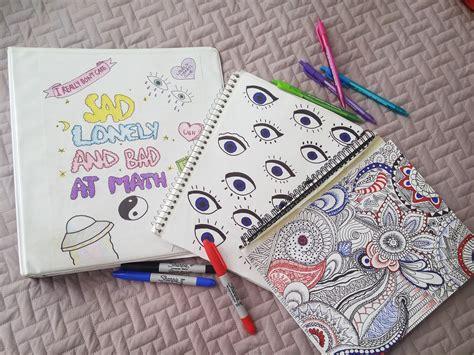 adornos pra cuadernos decora tus cuadernos estilo tumblr blog pinterest