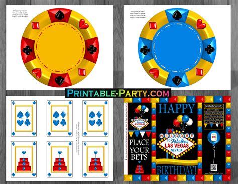 printable casino party decorations las vegas birthday decorations casino theme party printables