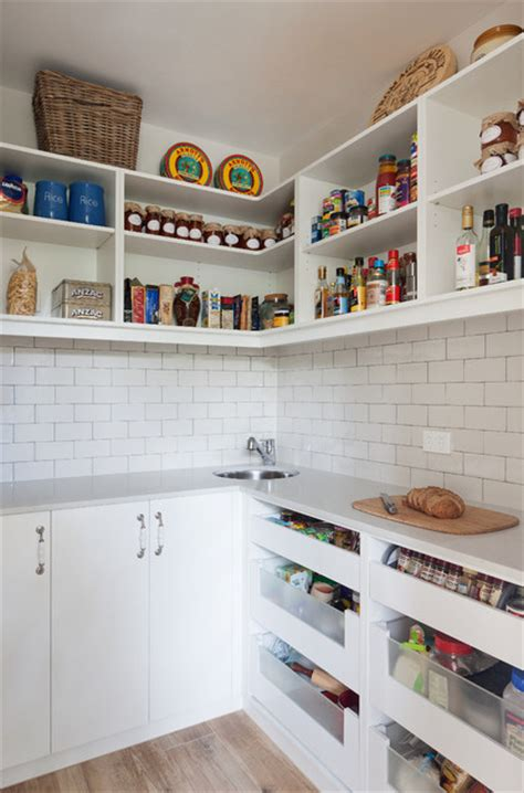 Melbourne Pantry by Doncaster East Home Walk In Pantry Country Kitchen Melbourne By Smarter Kitchens