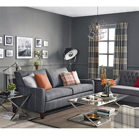 anderson kansas city industrial living room kansas get the look loft style living ideal home