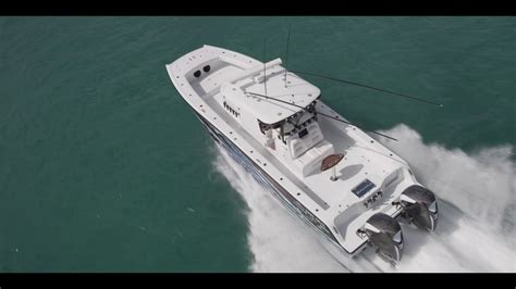 freeman boats with seven marine freeman 37vh with twin seven marine 627s youtube