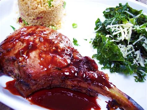Grilled Rack Of Pork Recipe by Grilled Rack Of Pork With Pomegranate Glaze Proud