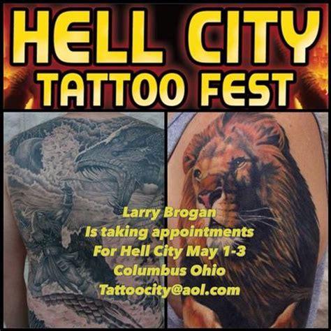 hell city tattoo hell city 2015 poster by larry brogan tattoos