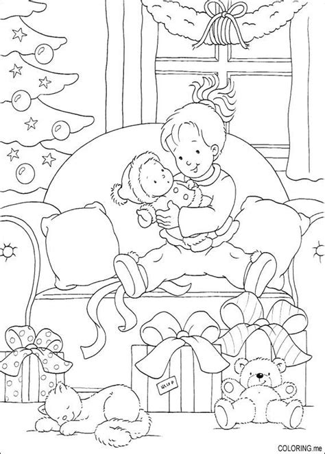 coloring pages morning coloring page morning gift and cat coloring me