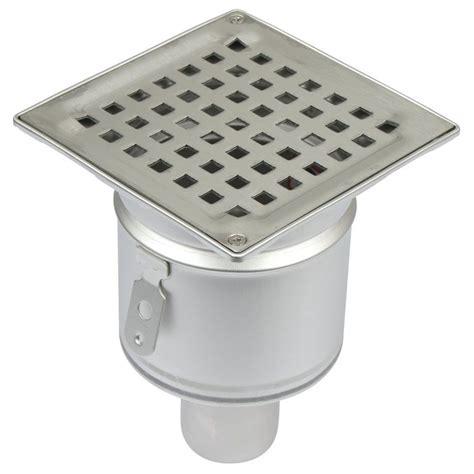 Bathroom Gully Drain Shower Drain Vertical Gully Stainless Steel 145 X 145mm
