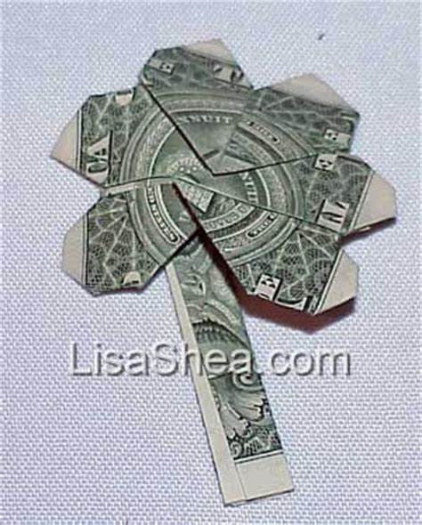 Money Origami Shamrock - japanese money origami shamrock s japanese pages