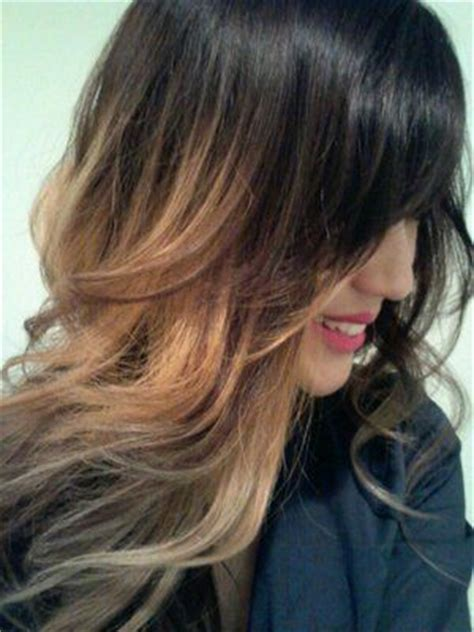 how to grow out ombre hair without dying it black to light blonde ombre hair pinterest short
