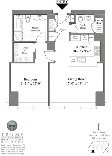 trump chicago floor plans trump tower chicago floor plans gold coast realty