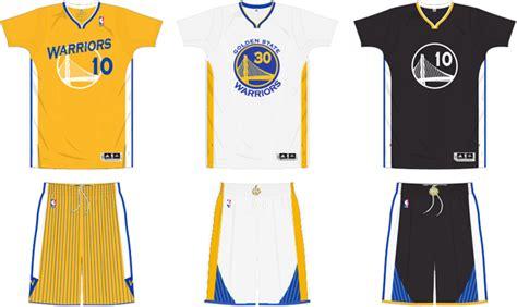 jersey design warriors golden state warriors sleeved uniforms bluelefant