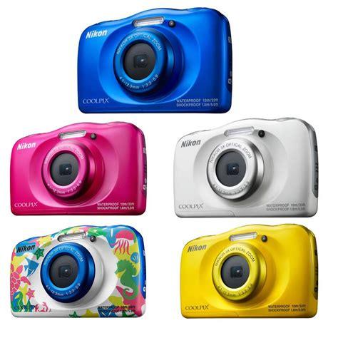Kamera Nikon W100 nikon coolpix w100 outdoor kamera farbe gelb real