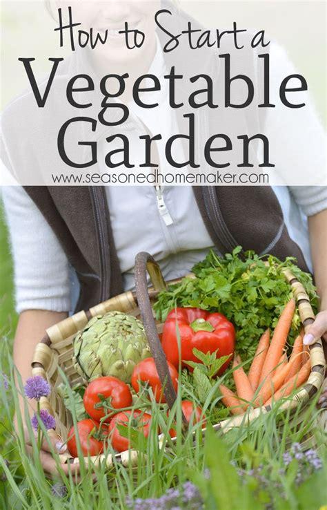 How To Start A Vegetable Garden Gardens Plants And The Starter Vegetable Gardens