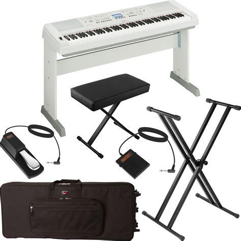 Keyboard Digital Piano Portable Yamaha Dgx 650dgx650dgx 650 Yamaha Dgx 650 Portable Grand Digital Piano Stage Bundle
