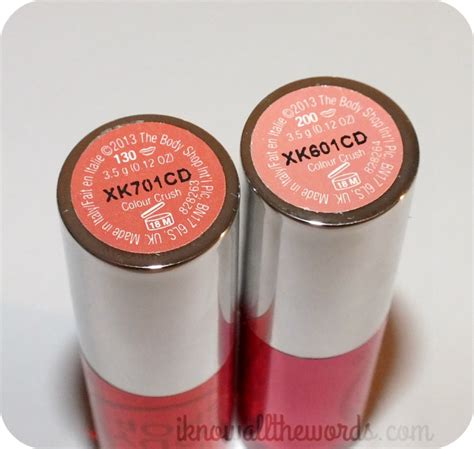 Shop Coral Lipstick the shop colour crush lipstick i all the words