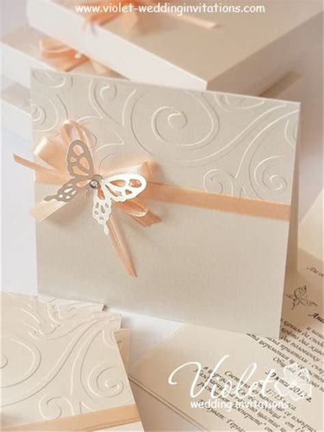 How To Make Handmade Wedding Invitations - handmade wedding invitations ideas iidaemilia