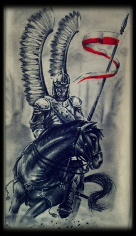 polish hussar by karlinoboy on deviantart