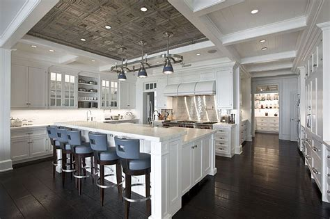 Open Kitchen Designs With Island by Super Luxury Rich People Kitchen Home Design Examples