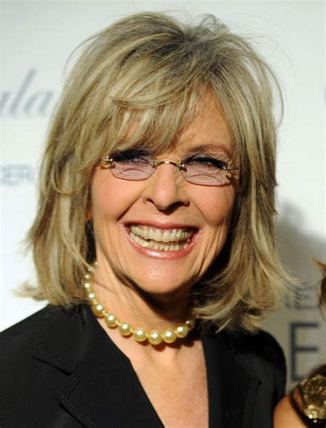 diane keatons layer haircut diane keaton hairstyle pictures diane keaton after nose job surgery vip