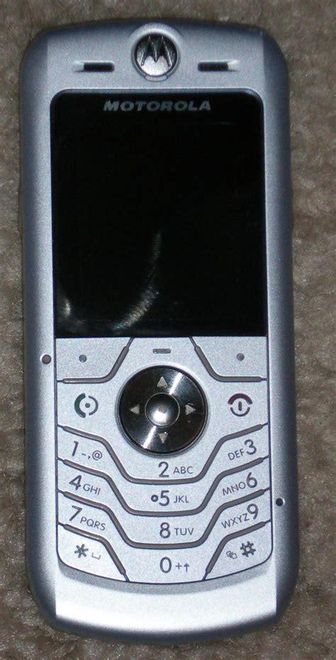 Hp Motorola C113 motorola l6 spesifikasi