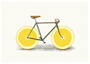 Small Sinks And Vanities My Wonderful Walls Lemon Bicycle Wall Sticker Decal Zest