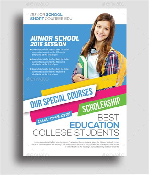 html education templates free 26 education flyer templates psd vector eps jpg