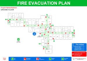 fire evacuation plan fire plans original cad solutions