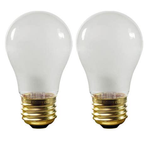 15 watt appliance light bulb 15 watt a15 appliance bulb satco s3949